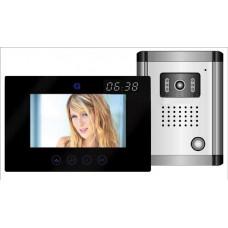Global DF-636TS + OUT9 + Clock videó kaputelefon