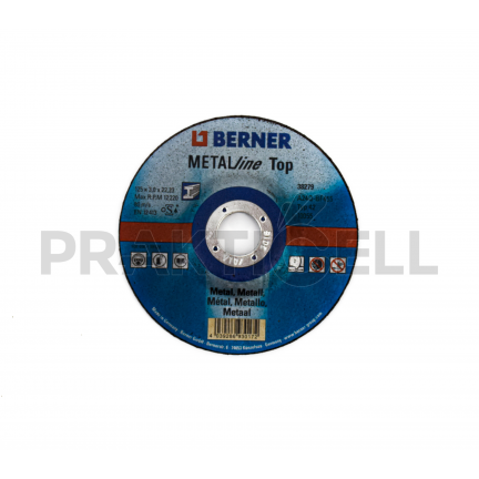 Berner Metal Vágókorong 125x3,0x22,23mm