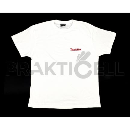Makita férfi poló XL-es, fehér