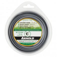 Arnold Trimmer fűkasza damil négyzet 2,4 mm 15 m alu