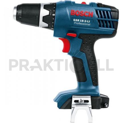 Bosch GSR 18-2-LI Plus Akkus fúró-csavarbehajtó 18 V / 2 x 2.0 Ah